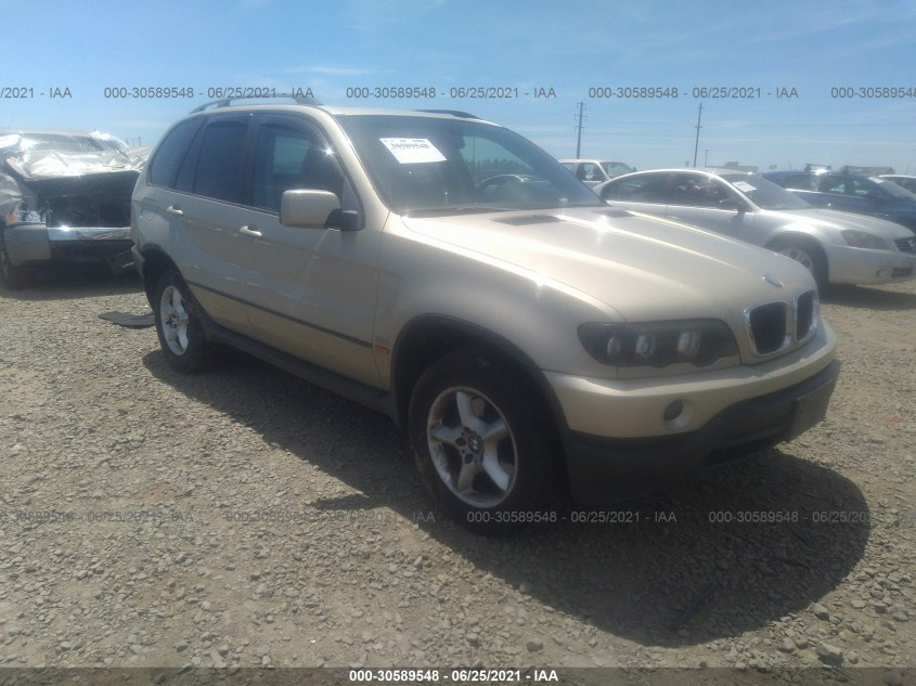 BMW X5 2003. Lot# 30589548. VIN 5UXFA53543LV89390. Photo 1