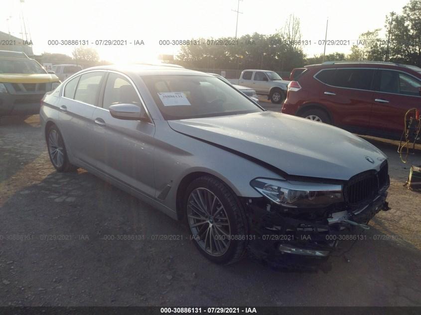 BMW 5 SERIES 2018. Lot# 30886131. VIN WBAJA9C53JB034322. Photo 1