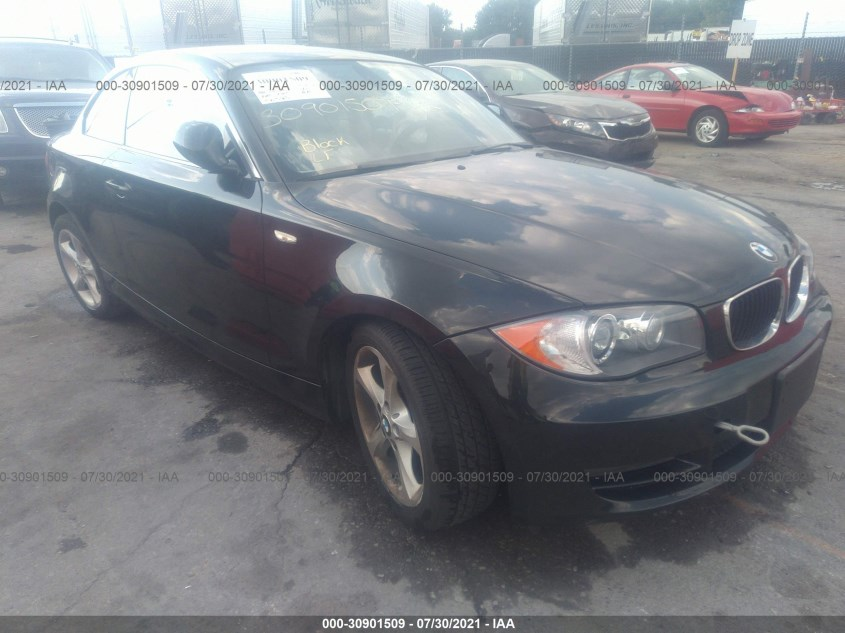 BMW 1 SERIES 2010. Lot# 30901509. VIN WBAUP7C52AVK76663. Photo 1